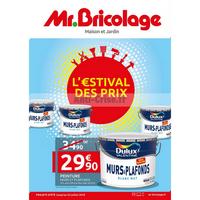 Catalogue Mr Bricolage du 4 au 22 juillet 2018