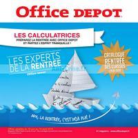 Catalogue Office Dépôt du 18 juin au 19 août 2018 (Calculatrices)