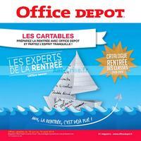 Catalogue Office Dépôt du 18 juin au 19 août 2018 (Cartables)