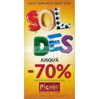 Catalogue Picwic du 27 juin au 7 août 2018
