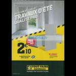 Catalogue Tout Faire Matériaux du 13 juin au 7 juillet 2018