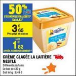 Bon Plan Crème Glacée La Laitière chez Carrefour Market - anti-crise.fr