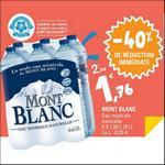 Bon Plan Eau Mont Blanc chez Leclerc - anti-crise.fr