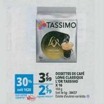 Bon Plan Dosettes Tassimo L'Or chez Auchan - anti-crise.fr