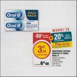 Bon Plan Dentifrice Oral-B Répare Gencives & Email Magasins U - anti-crise.fr