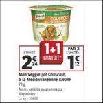 Bon Plan Veggie Pot Knorr chez Géant Casino - anti-crise.fr