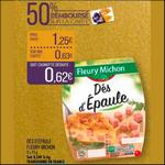 Bon Plan Dés d'Epaule Fleury Michon chez Match - ani-crise.fr