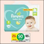 Bon Plan Couches Pampers Baby Dry T4 chez Intermarché - anti-crise.fr