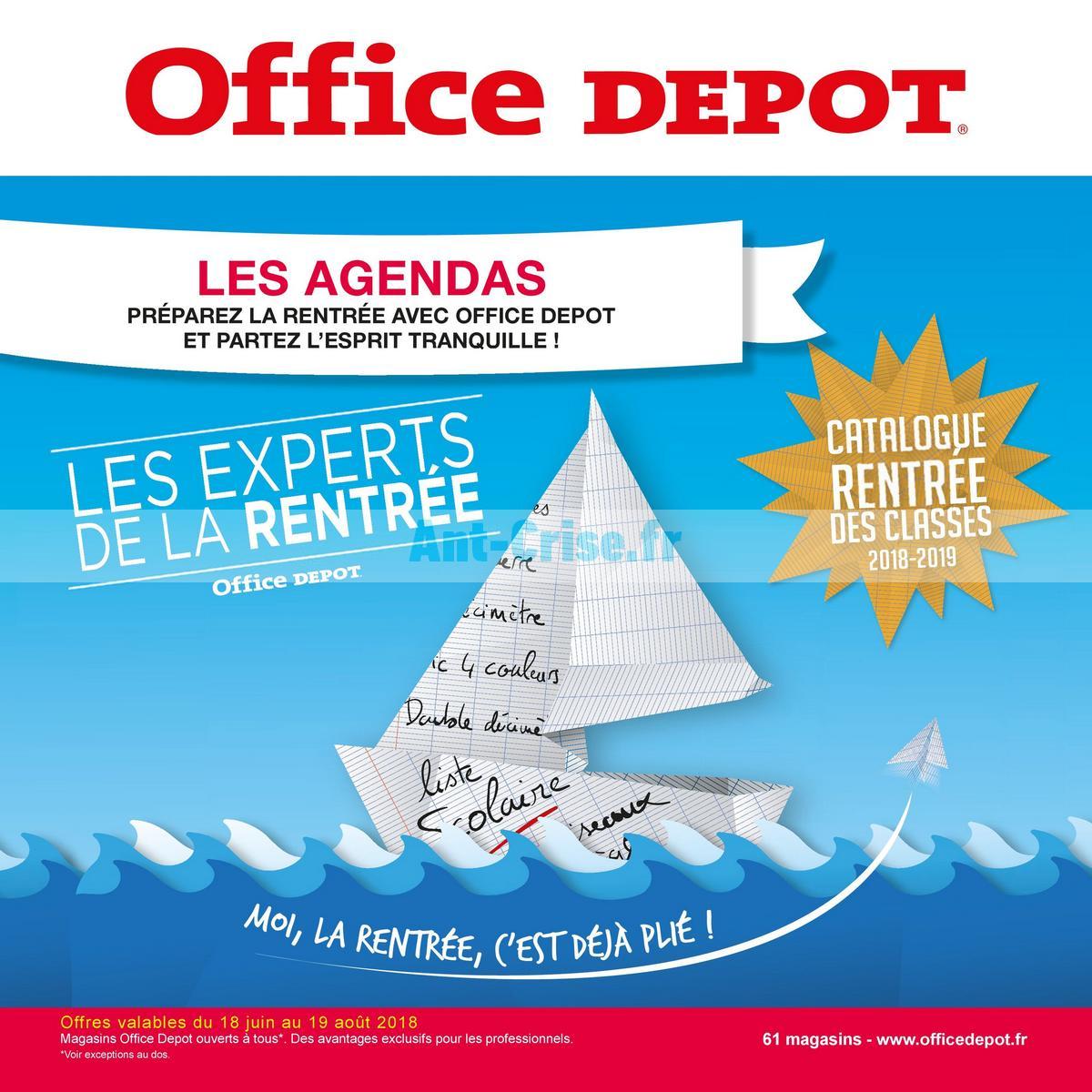 août2018 Catalogue Office Dépôt du 18 juin au 19 août 2018 (1)