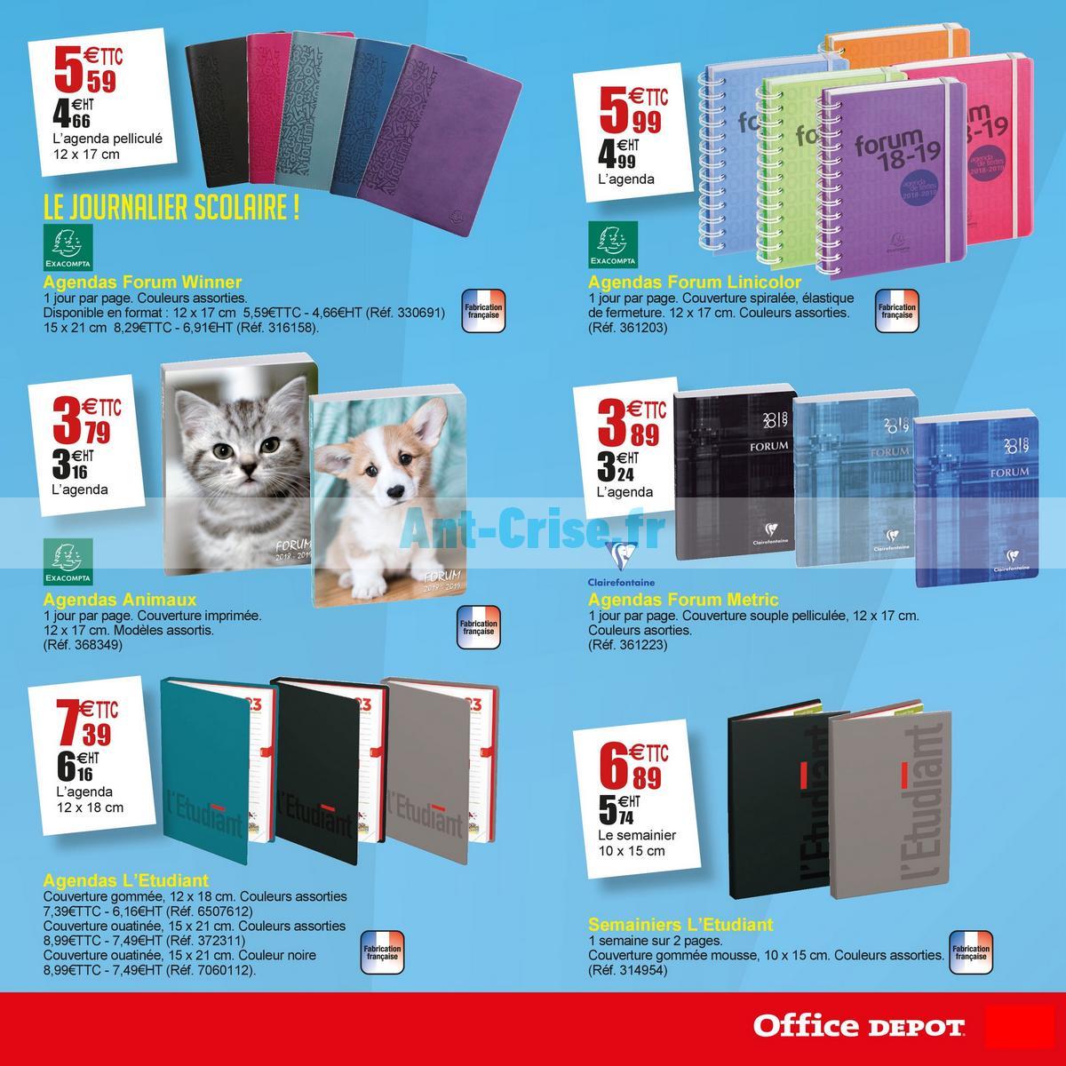 août2018 Catalogue Office Dépôt du 18 juin au 19 août 2018 (7)