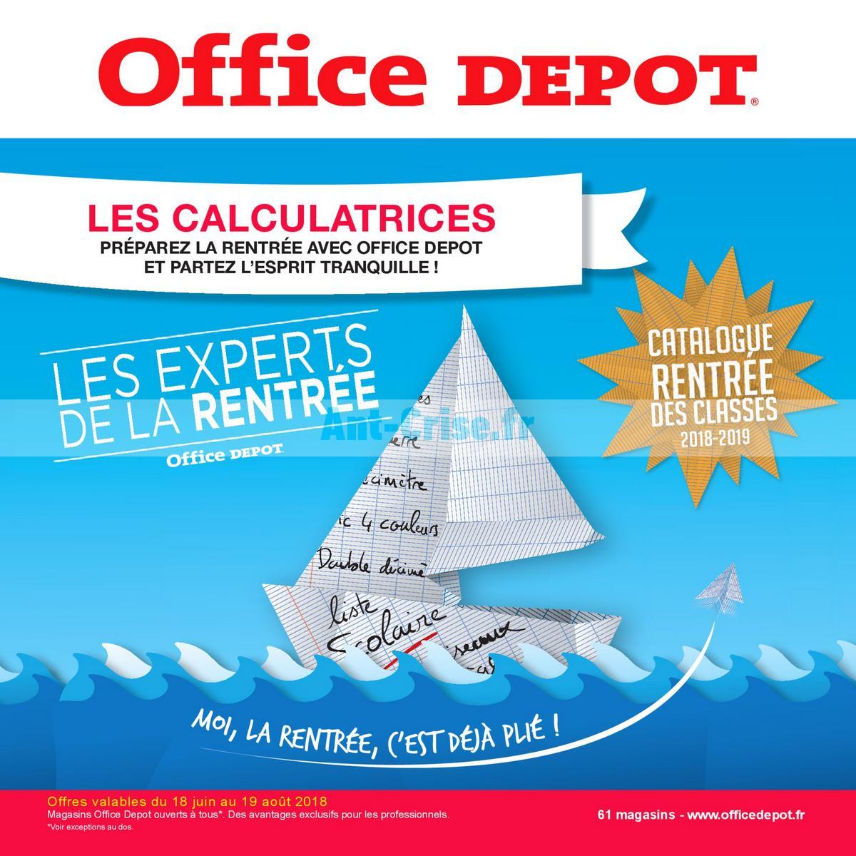 aout2018 Catalogue Office Dépôt du 18 juin au 19 août 2018 (Calculatrices) (1)