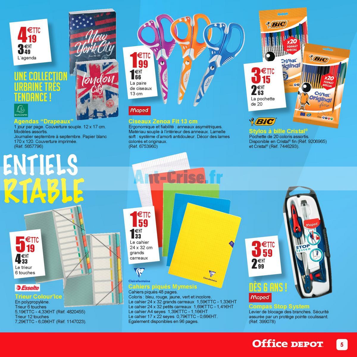 aout2018 Catalogue Office Dépôt du 18 juin au 19 août 2018 (Cartables) (5)
