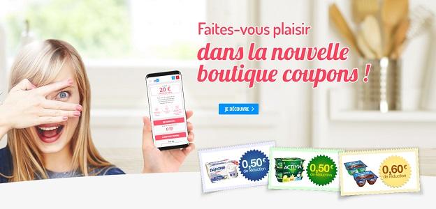 Nouvelle Boutique Danone : Bons à Echanger contre des Points - anti-crise.fr