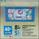 Bon Plan Lessive Dash Pods 3en1 chez Auchan (27/06 - 02/07) - anti-crise.fr