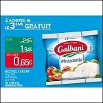 Bon Plan Mozzarella Galbani chez Match (26/06 - 08/07) - anti-crise.fr