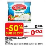 Bon Plan Mozzarella Galbani chez Leader Price (05/06 - 17/06) - anti-crise.fr