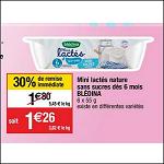 Bon Plan Mini Lactés Blédina chez Cora (26/06 - 02/07) - anti-crise.fr