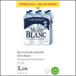 Bon Plan Eau Mont Blanc chez Carrefour Market DRIVE (17/06) - anti-crise.fr