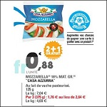Bon Plan Mozzarella de Vache Casa Azzurra chez Leclerc (03/07 - 14/07) - anti-crise.Fr