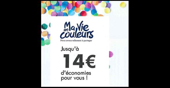 Livret Ma Vie En Couleurs de Juin 2017 : 23 Bons de Réduction - anti-crise.fr