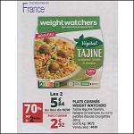 Bon Plan Plat Cuisiné Weight Watchers chez Auchan (27/06 - 02/07) - anti-crise.fr