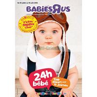 Catalogue Babies R Us du 16 juillet au 19 août 2018