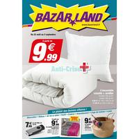 Catalogue Bazarland du 22 août au 2 septembre 2018
