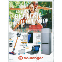 Catalogue Boulanger du 23 juillet au 19 août 2018