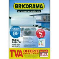 Catalogue Bricorama du 11 juillet au 19 août 2018