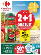 Carrefour Market du 24 juillet au 5 août