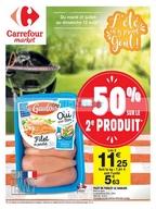Carrefour Market du 31 juillet au 12 août