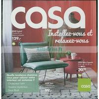 Catalogue Casa du 30 juillet au 26 août 2018
