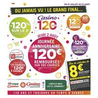 Catalogue Casino du 31 juillet au 12 août 2018