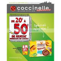 Catalogue Coccinelle du 22 août au 2 septembre 2018 (Supermarché)