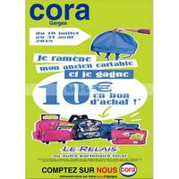 Catalogue Cora du 10 juillet au 31 août 2018 (Garges)
