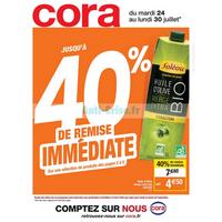 Catalogue Cora du 24 au 30 juillet 2018