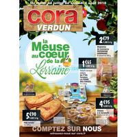 Catalogue Cora du 24 juillet au 4 août 2018 (Verdun)