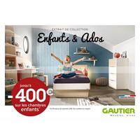 Catalogue Gautier du 9 août au 2 septembre 2018