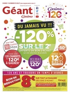 Géant Casino du 17 au 29 juillet