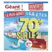 Catalogue Géant Casino du 7 au 19 août 2018
