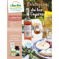 Catalogue L'Eau Vive du 2 juillet au 25 août 2018