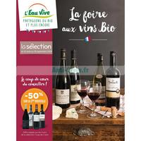 Catalogue L'Eau Vive du 31 août au 30 septembre 2018 (Vins)
