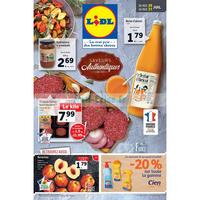 Catalogue Lidl du 25 au 31 juillet 2018