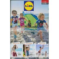 Catalogue Lidl du 26 juillet au 31 août 2018 (Plage)