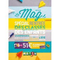 Catalogue Match du 1er au 31 août 2018 (Le Mag)