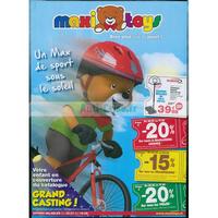 Catalogue Maxitoys du 30 juillet au 19 août 2018