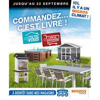 Catalogue Migros du 18 juillet au 22 septembre 2018 (Livré)
