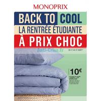 Catalogue Monoprix du 17 au 27 août 2018