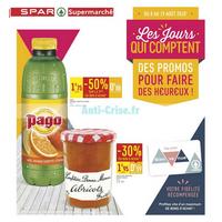 Catalogue Spar du 8 au 19 août 2018 (Supermarché)