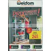 Catalogue Weldom du 1er au 25 août 2018